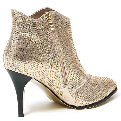 Lady Couture Lucky Gold Glitter Heels