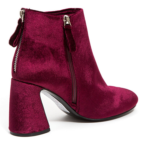 Ninety Union by Lady Couture Marvelous Burgundy Booties