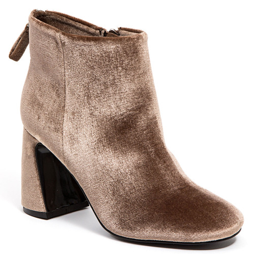 Ninety Union by Lady Couture Marvelous Taupe Booties