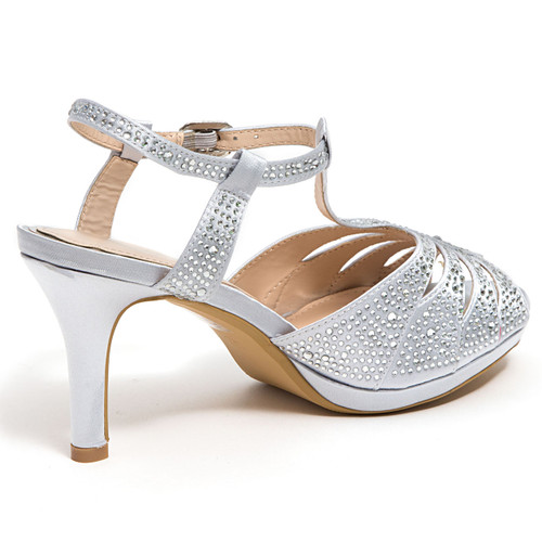 958ace892 Lady Couture Midnight Silver Heels