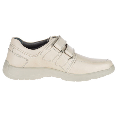 Hush Puppies Luthar White Leather Sports Shoes