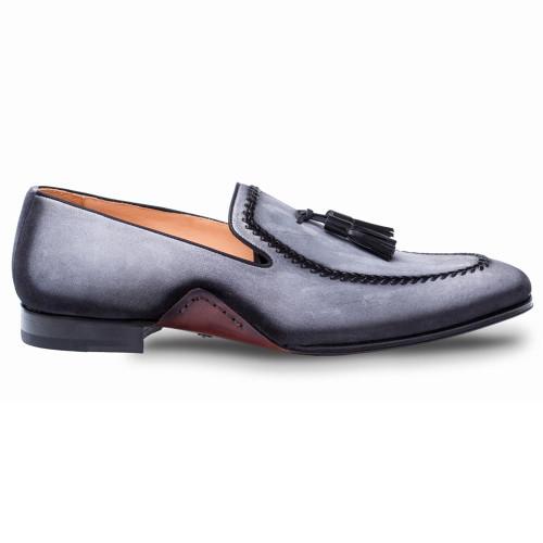 2f9fba2fdac Mezlan Plazza Grey Suede Mens Dress Shoes