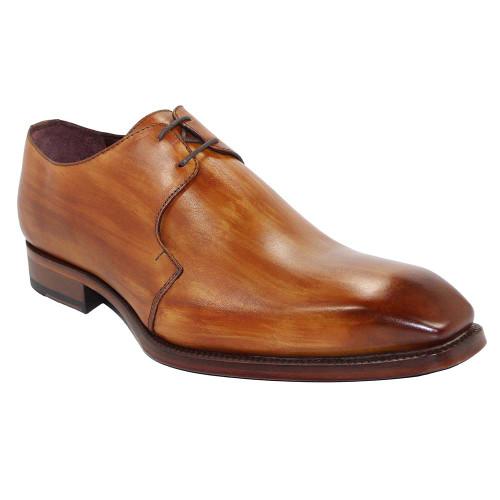 Emilio Franco Franco Cognac Italian Leather Oxfords