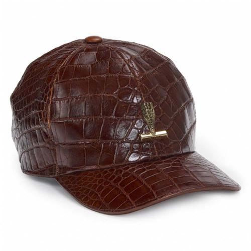 Mauri H65 Gold Body Alligator Men's Hat
