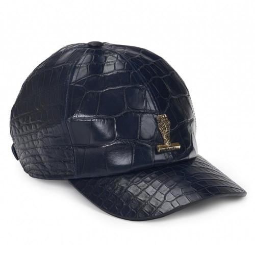 Mauri H65 Wonder Blue Body Alligator Men's Hat