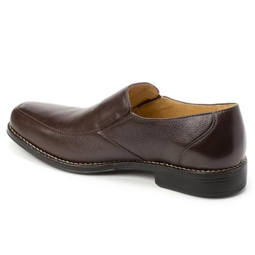 Sandro Moscoloni Renzo Brown Leather Men's Slip On Venetian Loafer