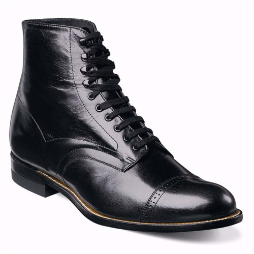 Stacy Adams Madison Black Leather Dress Boots