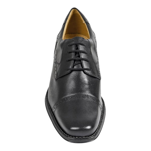 Sandro Mascoloni Bruce Black Leather Men's 4 Eyelet Oxford
