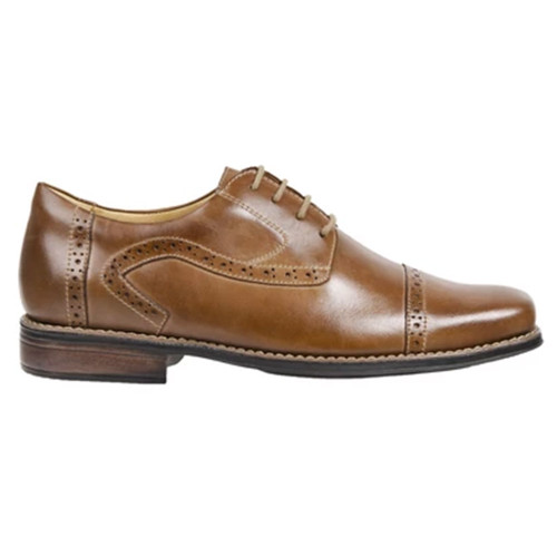Sandro Mascoloni Bruce Tan Leather Men's 4 Eyelet Oxford