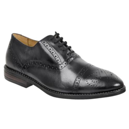 Sandro Moscoloni Murali Dark Grey Leather Men's Cap Toe Lace Up Oxford