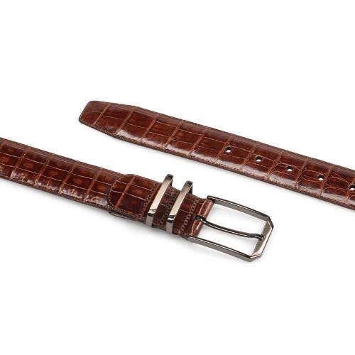 Mezlan Sport Genuine Corocodile Men's Belt