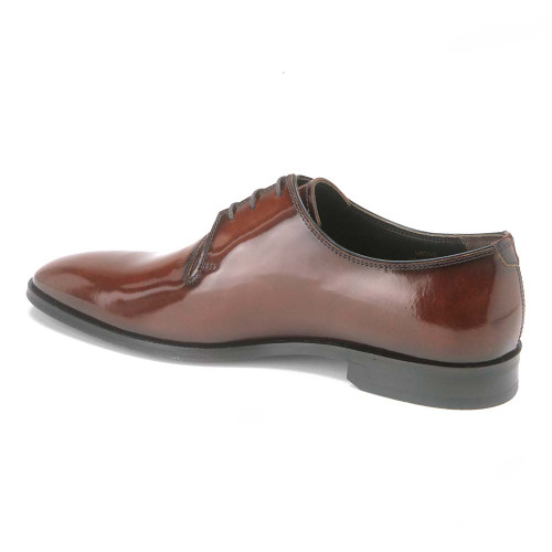 VellaPais Brown Calfskin Leather Men's Dress Shoes
