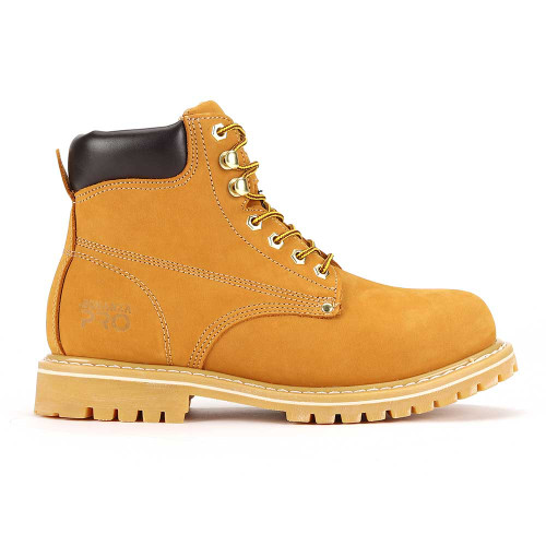 """Bonanza Forester Pro 6"""" 3M™ Insulated Tan Nubuck Leather Mens Work Boot"""