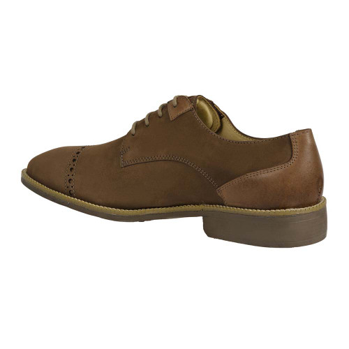 Sandro Moscoloni Percy Brown Genuine Leather Mens Derby
