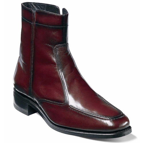 Florsheim Essex Black Cherry Leather Ankle Boot