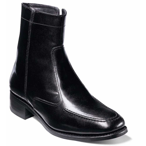 Florsheim Essex Black Leather Ankle Boot