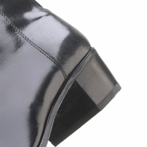 Florsheim Duke Black Kid Leather Boot