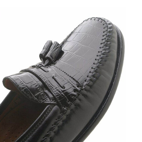 Florsheim Pisa Black Tasseled Loafer