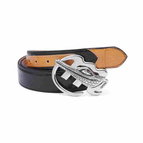 Mauri Dune & Brown Mens Matching Belt