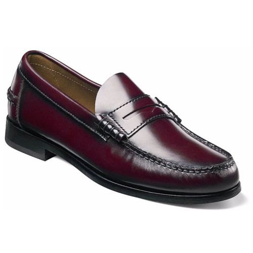 Florsheim Berkley Burgundy Loafer Penny Loafer
