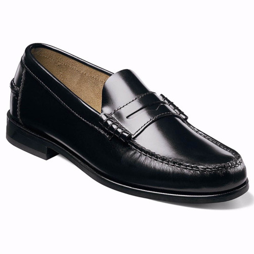 Florsheim Berkley Black Leather Penny Loafer