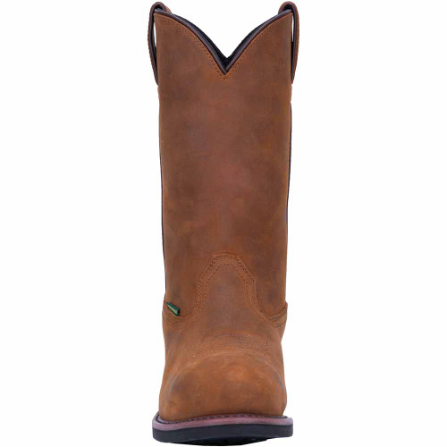 Dan Post Tan Distressed Leather Western Boot