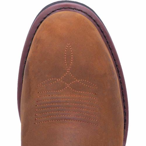 Dan Post Tan Distressed Leather Western Boot