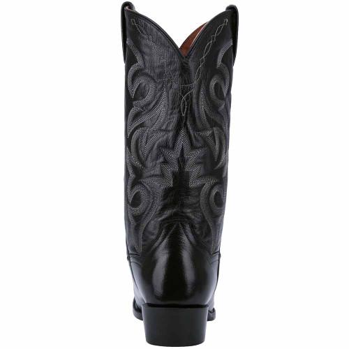 Dan Post Milwaukee Black Smooth Leather J-Toe Boots