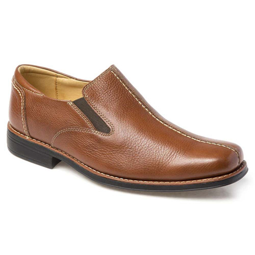 Sandro Moscoloni Tampa Tan Leather Slip-ons