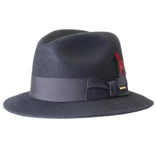 Stetson Black Wool Fredrick Hat