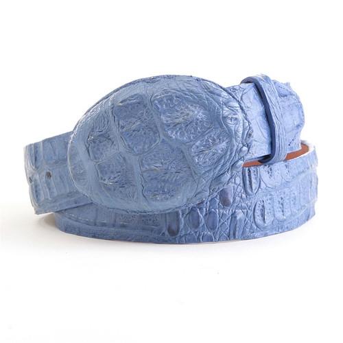 Los Altos Blue Jean Caiman Belt