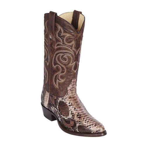Los Altos Exotic Boots Genuine Python Skin