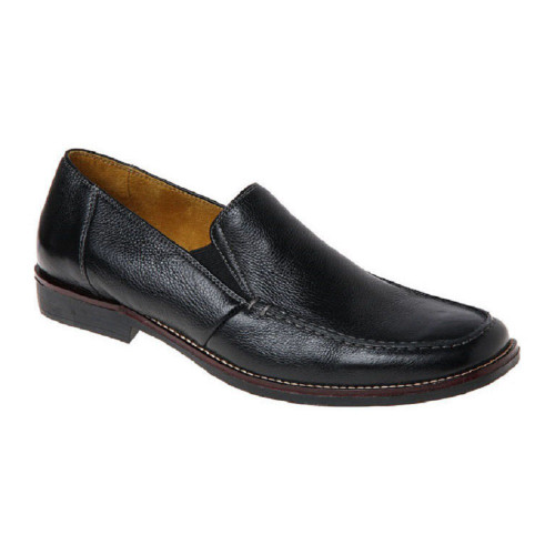 Sandro Moscoloni Easy Black Leather Slip-ons