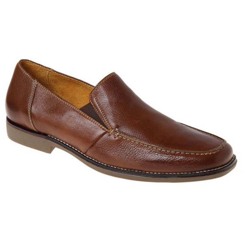 Sandro Moscoloni Easy Cognac Leather Slip-ons