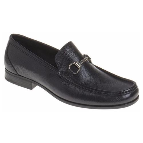 Sandro Moscoloni Malibu Black Genuine Leather Loafers