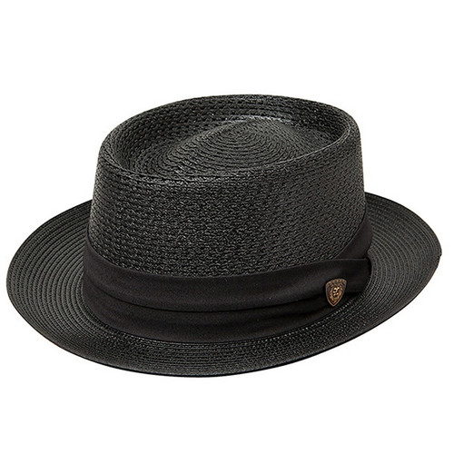 Dobbs Bishop Black Fabric Hat