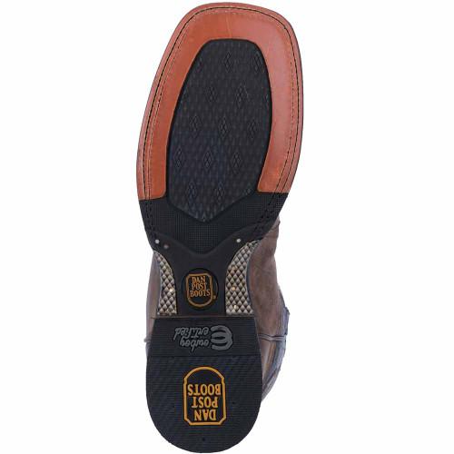 Dan Post Franklin Sand Square Toe Leather Boots