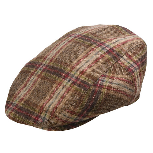 Bigalli Boston Brown Wool Ivy Cap BOSTON 4013 BROWN