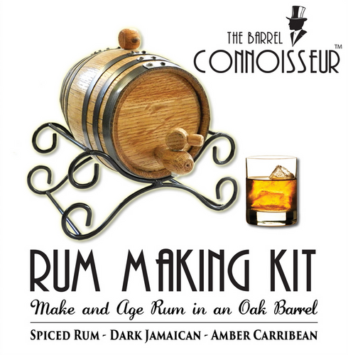 The Barrel Connoisseur® Rum Making Kit