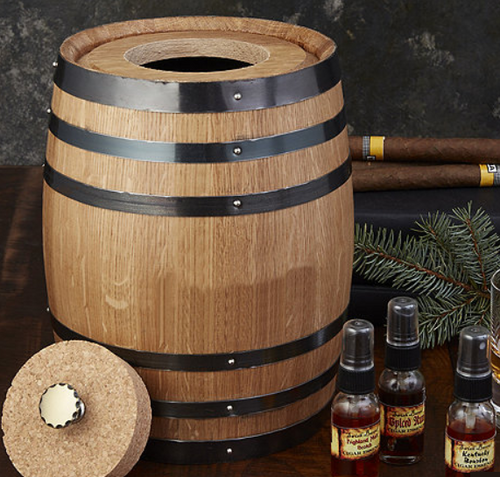 Cigar Infusion Barrel Humidor