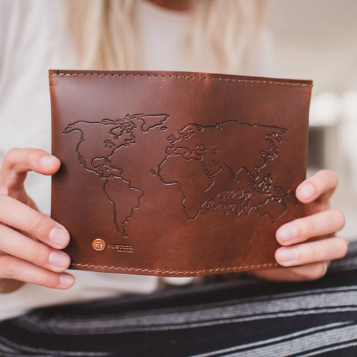 Grant Leather Travel Wallet