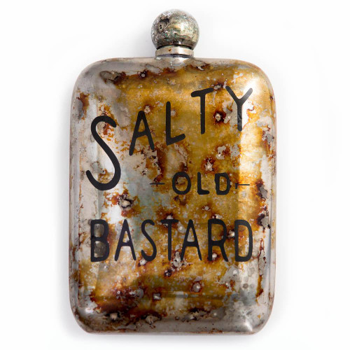 Salty Old Bastard Flask
