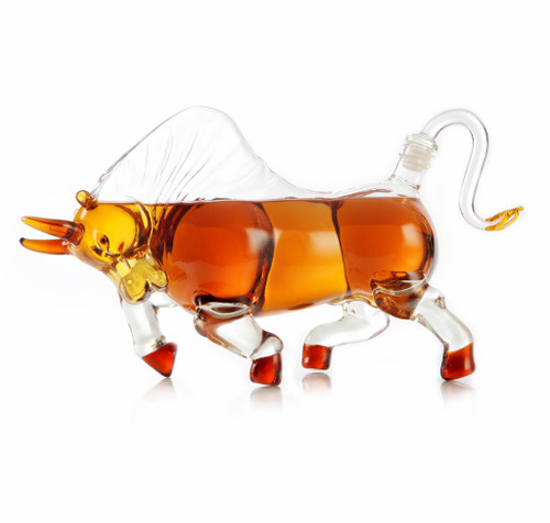 Charging Bull 1000mL Decanter