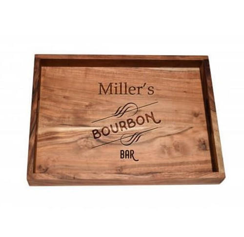 Personalized Bar Tray