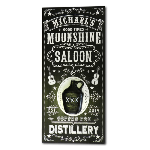 Personalized Vintage Moonshine Distillery Sign