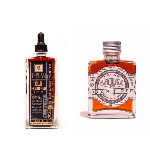 Dashfire Old Fashioned Bitters + Vintage Orange Bitters