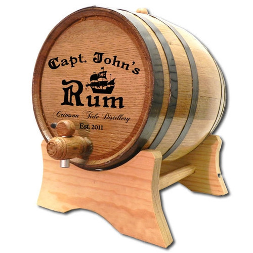 Captain's Personalized Barrel