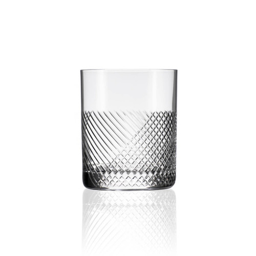 Bourbon Street 14.75 oz. Double Old-Fashioned Glass (Set of 2)