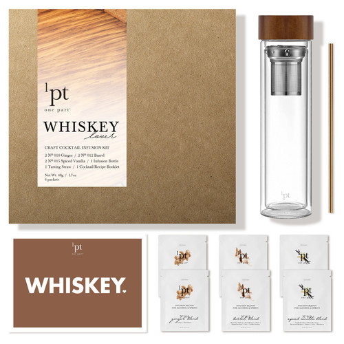 1pt Whiskey Lover Infusion Kit