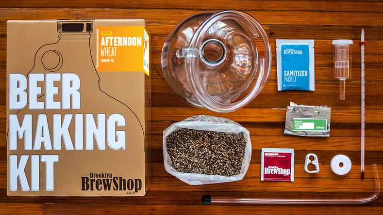 ​A Gentleman's Trove's Afternoon Wheat Beer Making Instructions